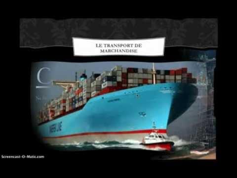 Le marché du transport maritime
