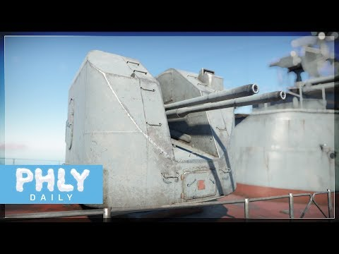 QUAD AUTOMATIC 76MM CANNONS | Absolute DESTRUCTION (War Thunder Naval Gameplay)