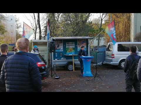 AfD Mittelsachsen in Döbeln 14.11.2020 - Grundrechte erhalten