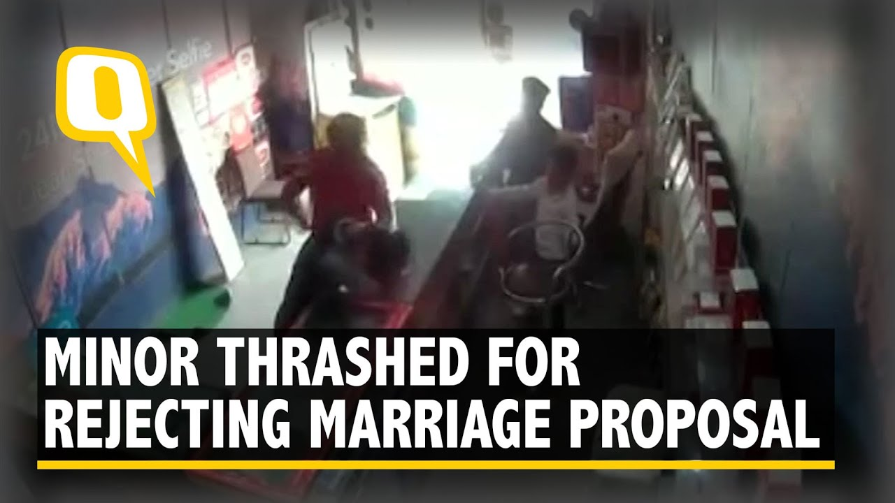 Caught on Cam: Minor Beaten for Allegedly Rejecting Proposal | The ...
