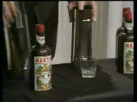 Tommy Cooper - Glass Bottle Trick Video