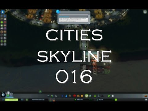 Cities Skylines Gameplay [016] Building Cargo Harbor (No Commentary)