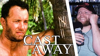 CAST AWAY (2000) MOVIE REACTION!! FIRST TIME WATCHING!