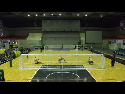 2017 Men's Goalball Asia Pacific Championships Australia v Iraq