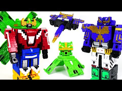 Power Rangers Zyuohger Cube Condor Wild, Animal King Octopus appear! - DuDuPopTOY