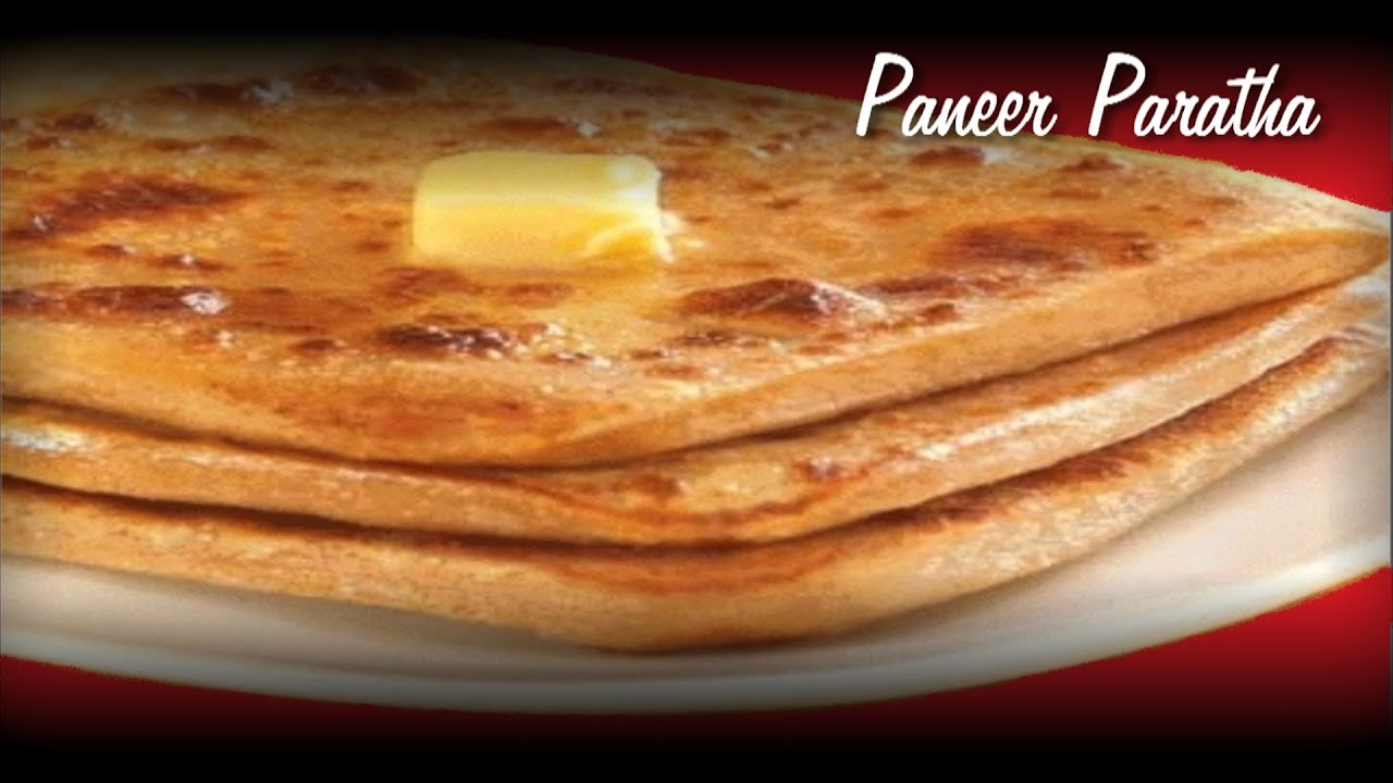 Paneer Paratha Recipe Video  Indian stuffed bread by