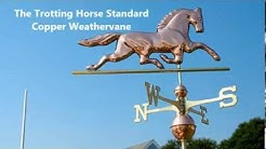 The Horse weathervane - A Classic Home Addition