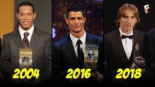 The Best FIFA Football Award Winners 1991 - 2018 ⚽ FIFA Best Player Award ⚽ Footchampion