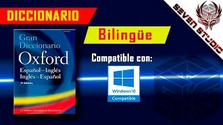 Como descargar El Gran Diccionario de Oxford para Pc. (Windows 10)