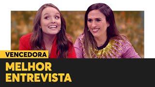 VENCEDORA: Larissa Manoela | MELHOR ENTREVISTA | Prêmio Humor Multishow 2019 thumbnail