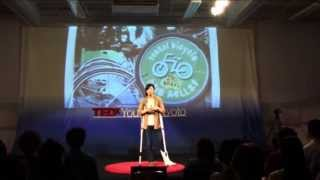 Believing motivates you: Kana Kawaguchi at TEDxYouth@Kyoto 2013