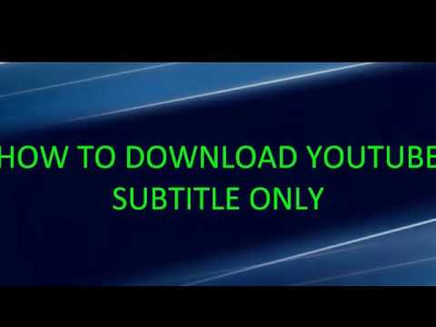 How to download subtitle subtitle download in youtube bangla how to download subtitle subtitle download in youtube bangla tutorial ccuart Images