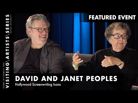 David and Janet Peoples Hollywood Screenwriting Icons, Page One 2015-Part 4