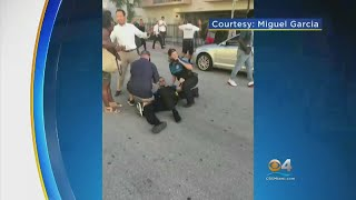 Woman Shot Dead After Striking Miami Beach Officer, Cars With Vehicle