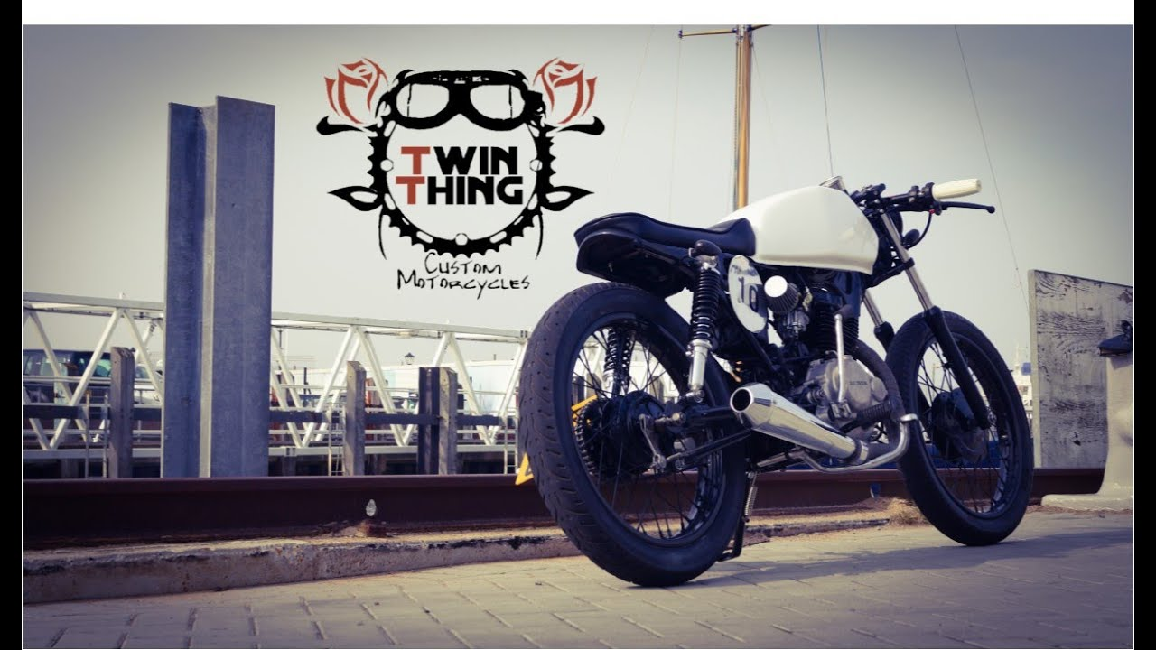 Bien connu Honda CG 125 - Cafe Racer custom - www.twinthing.co.uk - YouTube ZP58