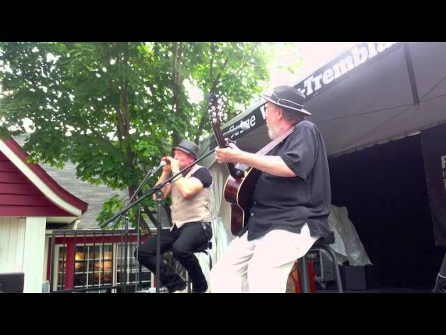 Brian Blain and Larry Kurtz Tremblant Bluesfest 2015 Full Set