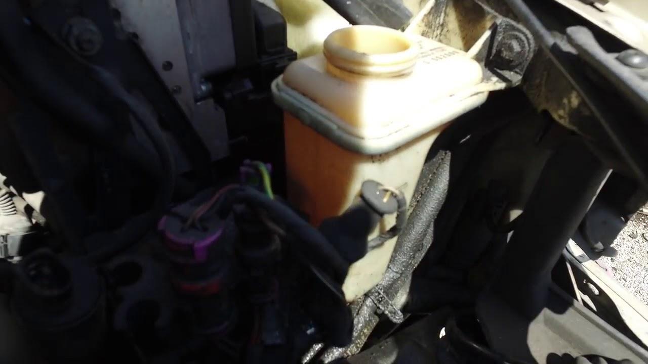 audi a4 washer fluid pump location [ 1280 x 720 Pixel ]