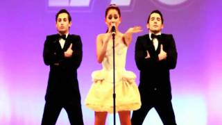 Ariana Grande performing Born This Way Express Yourself Mash Up Live