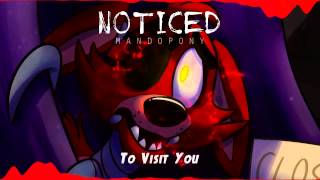 """[KARAOKE] """"Noticed"""" - Five Nights at Freddy's song by MandoPony"""