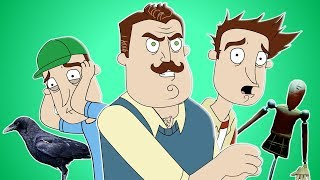 ♪ HELLO NEIGHBOR SONG - Animated Music Video