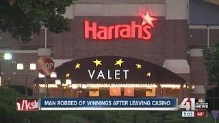 Man robbed of winnings after leaving Harrah's Casino