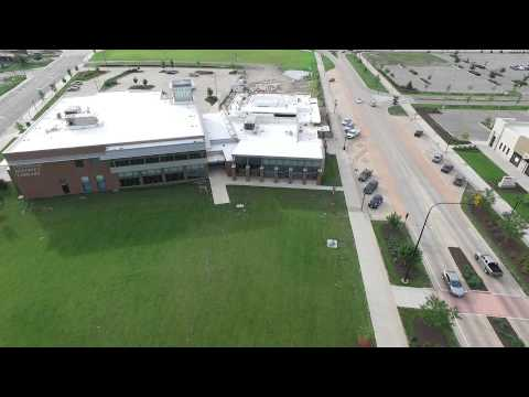 East Peoria Levee District  - Drone Video
