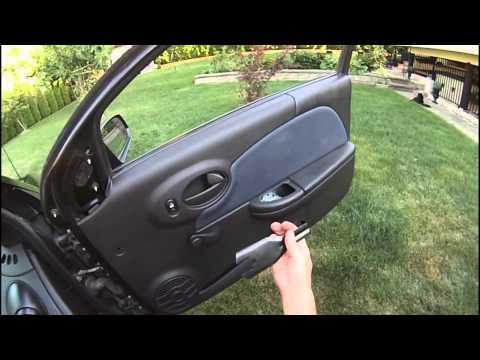 DIY – How to Remove a Saturn Ion Door Panel