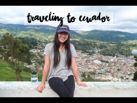 ECUADOR TRAVEL VLOG!! Part 1