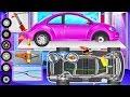 Super Car Wash and Repair - Dream Car Factory | Fun Games for Children