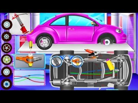Super Car Wash and Repair - Dream Car Factory | Kids Games