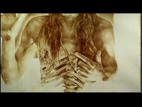 Painting with blood: Artist Vincent Castiglia uses his blood for his masterworks
