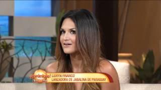 Leryn Franco en el Programa Levantate - Telemundo