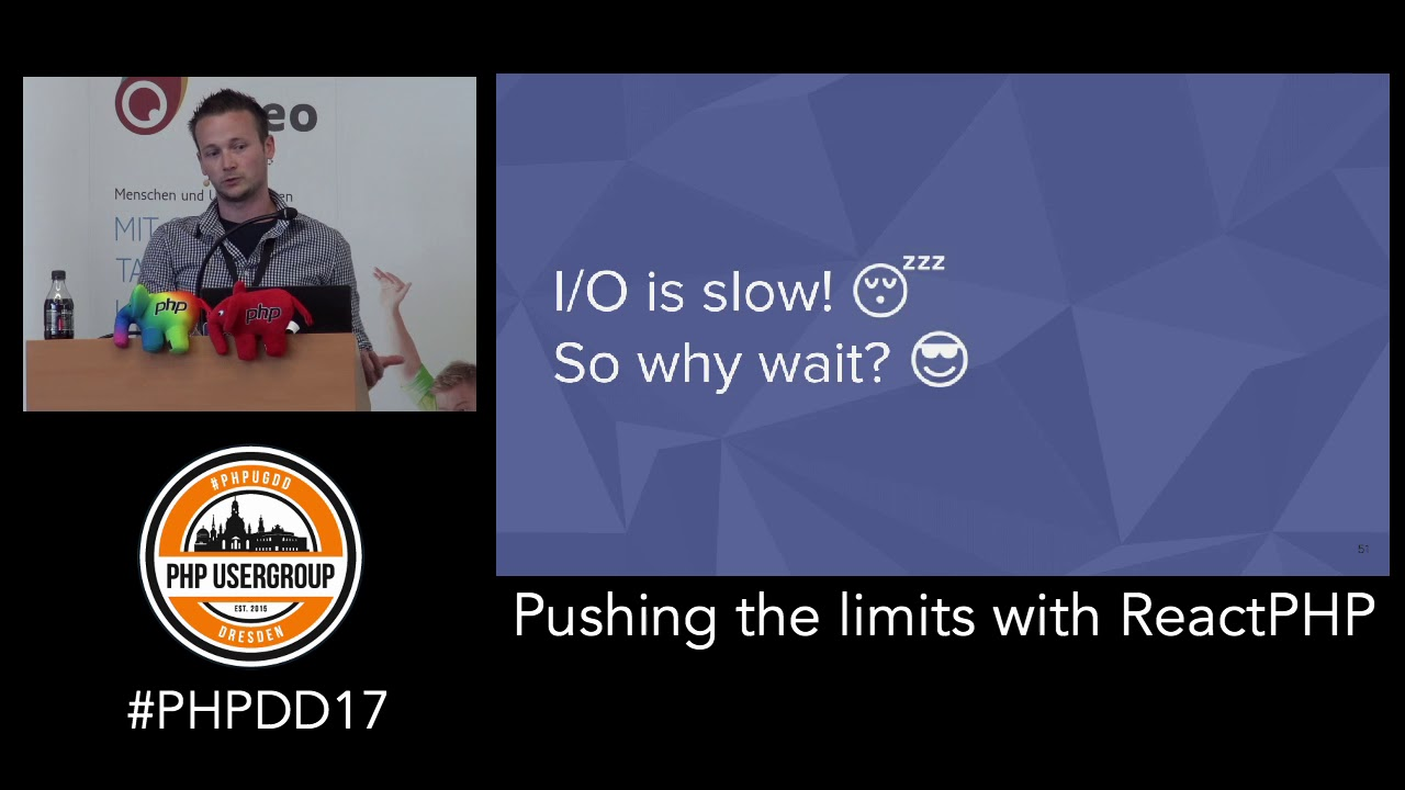 Pushing the limits with ReactPHP - PHP Developer Day 2017