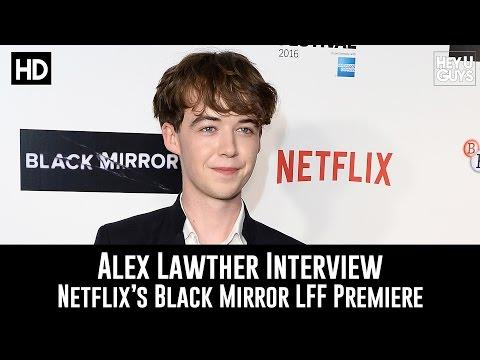 Alex Lawther Premiere   Black Mirror Season 3