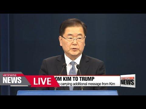 "[LIVE/ARIRANG NEWS] S. Korean president's chief envoys leave for U.S. carrying ""plus alpha"" offer..."