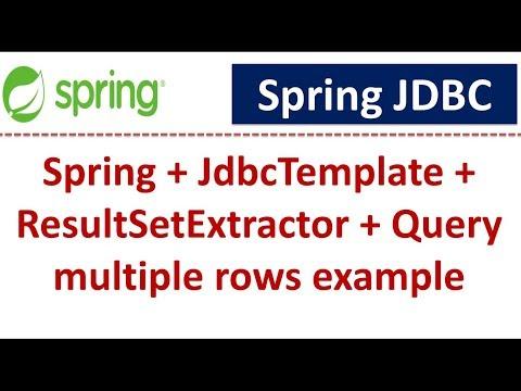spring-+-jdbctemplate-+-resultsetextractor-+-query-multiple-rows-example-|-spring-jdbc-tutorial
