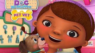 Доктор Плюшева Ветеринарная клиника Детская ролевая Игра Мультфильм на Русском Языке