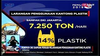 Larangan Penggunaan Kantong Plastik di DKI Diterapkan Januari 2019 - SIS 08/01