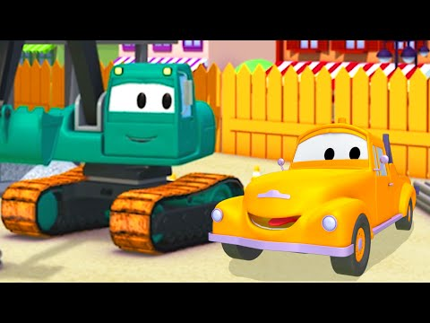 Bagr Edgar - Odtahové auto Tom ve Městě aut / Animáky pro děti