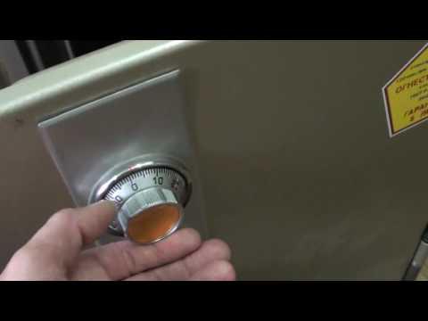 Как открыть сейф топаз