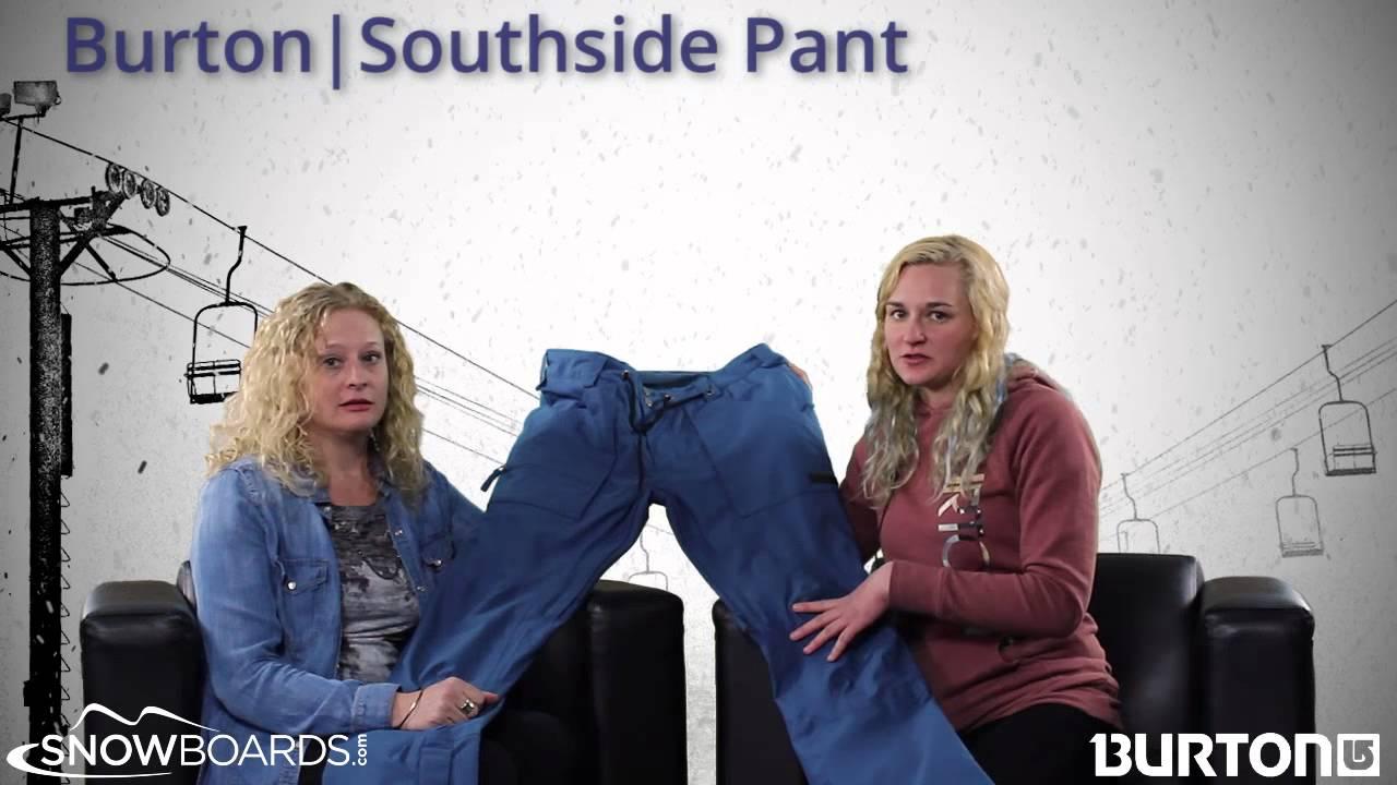 2015 Burton Southside Mens Pant Overview by SkisDOTcom