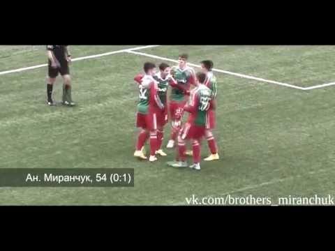 Anton Miranchuk ● Skills ● Goals ● Assists ● Dribling ● Lokomotiv Moscow (Reserv) ● 2014