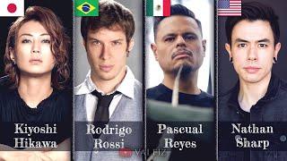 Dragon Ball Super Op2 epic Mashup: Kiyoshi Hikawa, Rodrigo Rossi, Pascual Reyes & Nathan Sharp