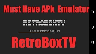 Download Retrox Emulator Frontend For Android MP3, MKV, MP4