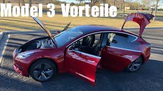 Vorteile des TESLA Model 3  vs Vorteile Tesla Model S