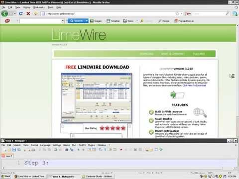 Limewire download gratis