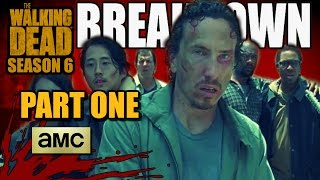 The Walking Dead: Season 6 - 6x03 PROMO BREAKDOWN (Part One)