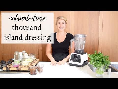 How to make healthy thousand island dressing