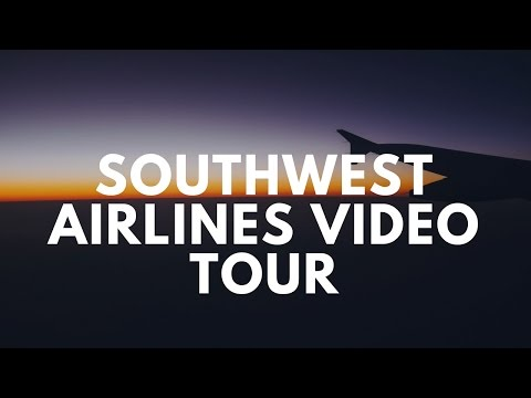 Southwest Airlines Tour (HD) NOC, Dispatch, Maintenance Hangar, Simulators Bay, Training Center