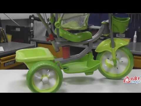 Мультяшка Мишка с амортизатором  Инструкция по сборке трехколесного велосипеда из коробки
